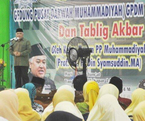 MUHAMMADIYAH BARISAN TERDEPAN BERANTAS TOGHUT POLITIK DAN EKONOMI DI INDONESIA